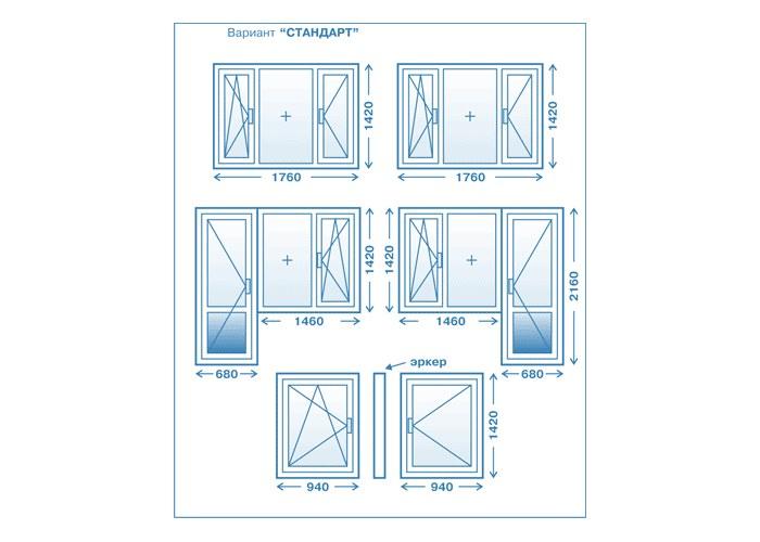 Пластиковые окна для домов серии п-44т от компании окна си-т.